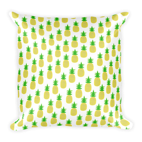 Perfectly Pineapple Square Pillow
