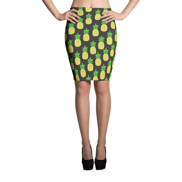 Pineapple Perfection Pencil Skirt