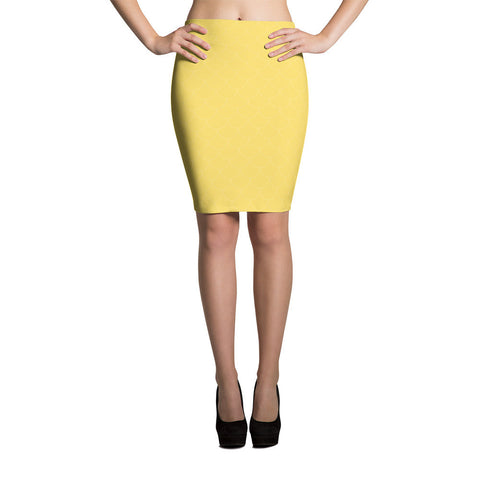 Sunshine Scales Pencil Skirt