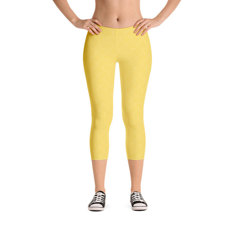 Sunshine Scales Capri Leggings