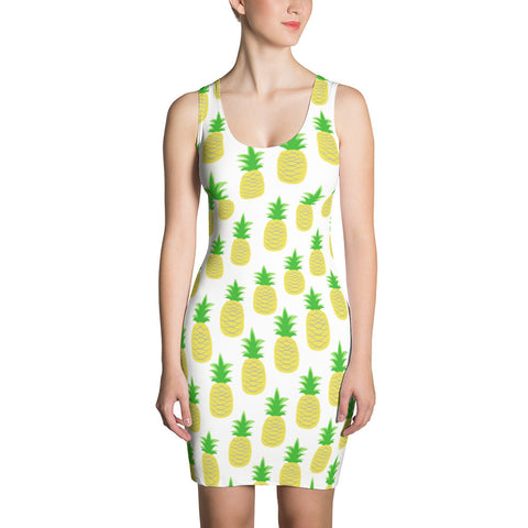 Perfectly Pineapple Sublimation Cut & Sew Dress