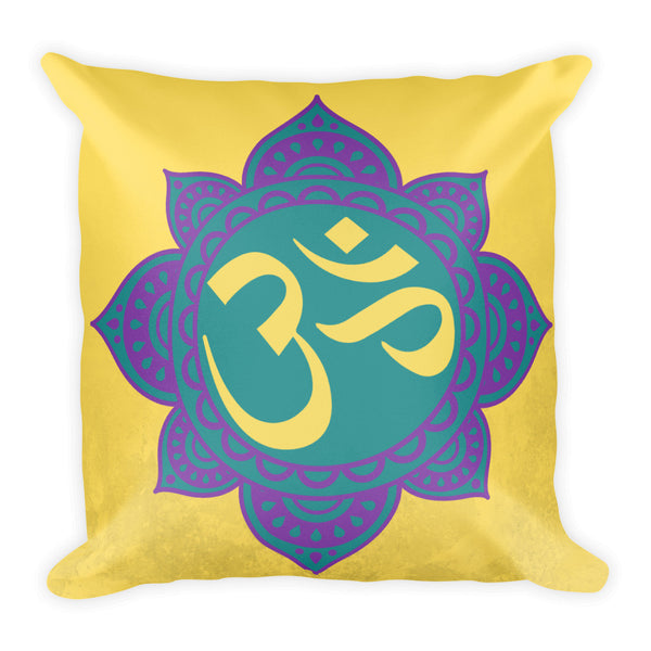 OM Square Pillow