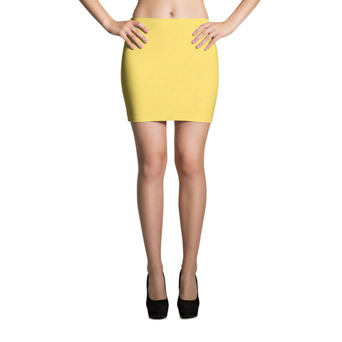 Sunshine Scales Mini Skirt