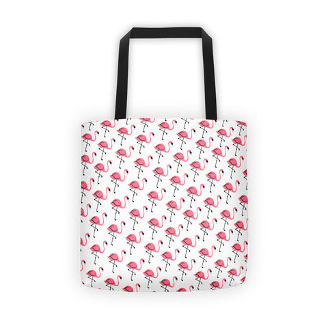 Flouncy Flamingo Tote bag