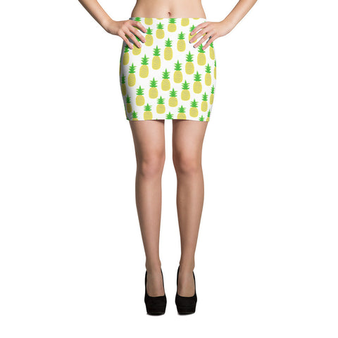 Perfectly Pineapple Mini Skirt