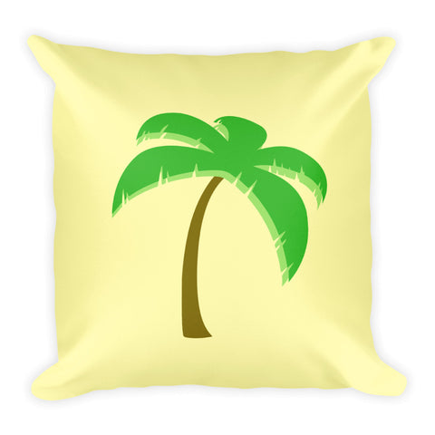Palm Tree Square Pillow