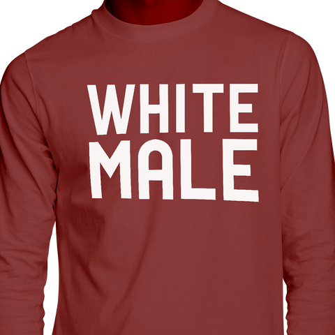 White Male Long Sleeve