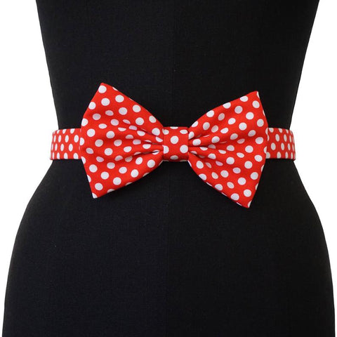 Minnie's Bow Belt | Poke a Dots | Bow Belt
