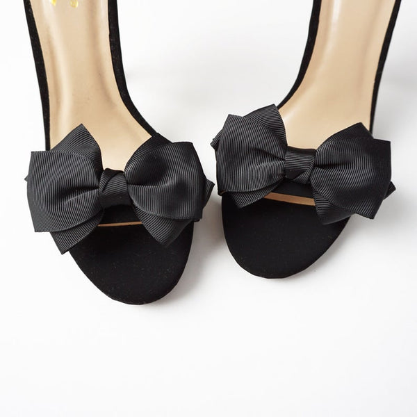 Bow Shoe Clips | 9 Colors