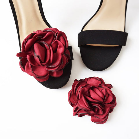 Flower Shoe Clips | 3 COLORS