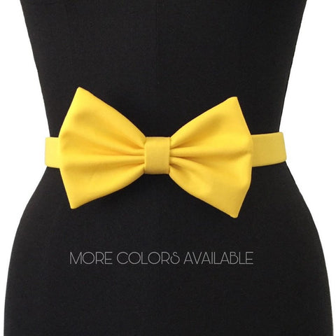 Cotton Bow Belts | 13 COLORS