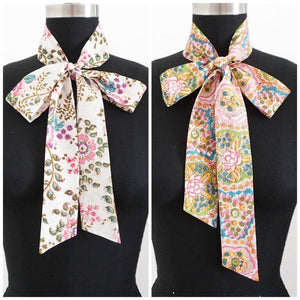 Floral Cotton Scarves | 2 Prints