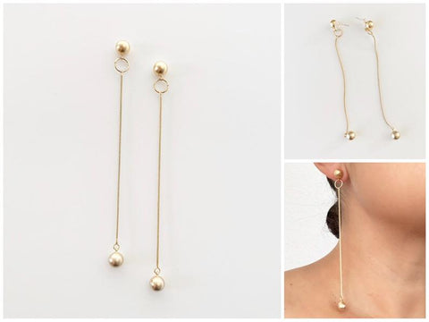 Wrecking Ball Earrings | 18k Gold