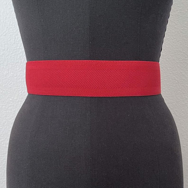 Textured Elastic Belt | 3 Colors