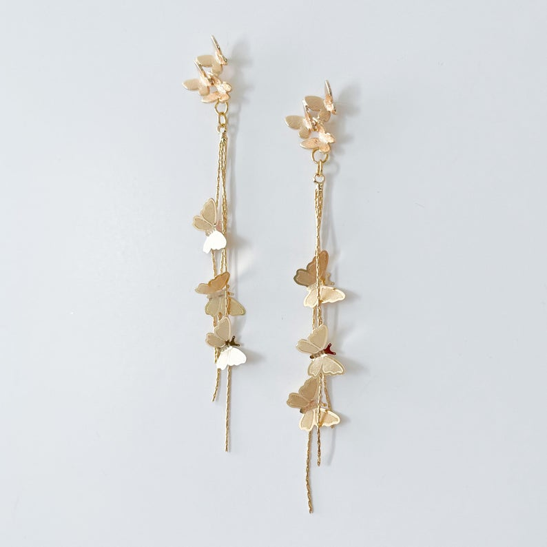Butterfly Earrings | 18k Gold
