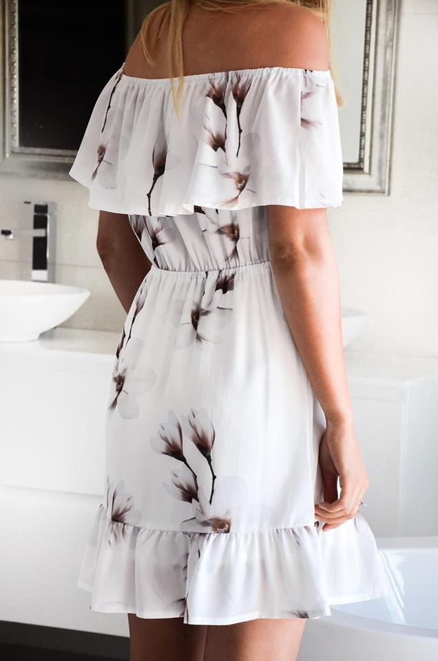 Lily off the shoulder dress