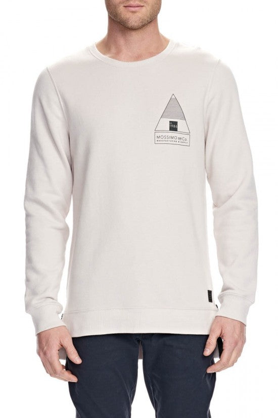 OBERON CREW NECK TAIL FLEECE