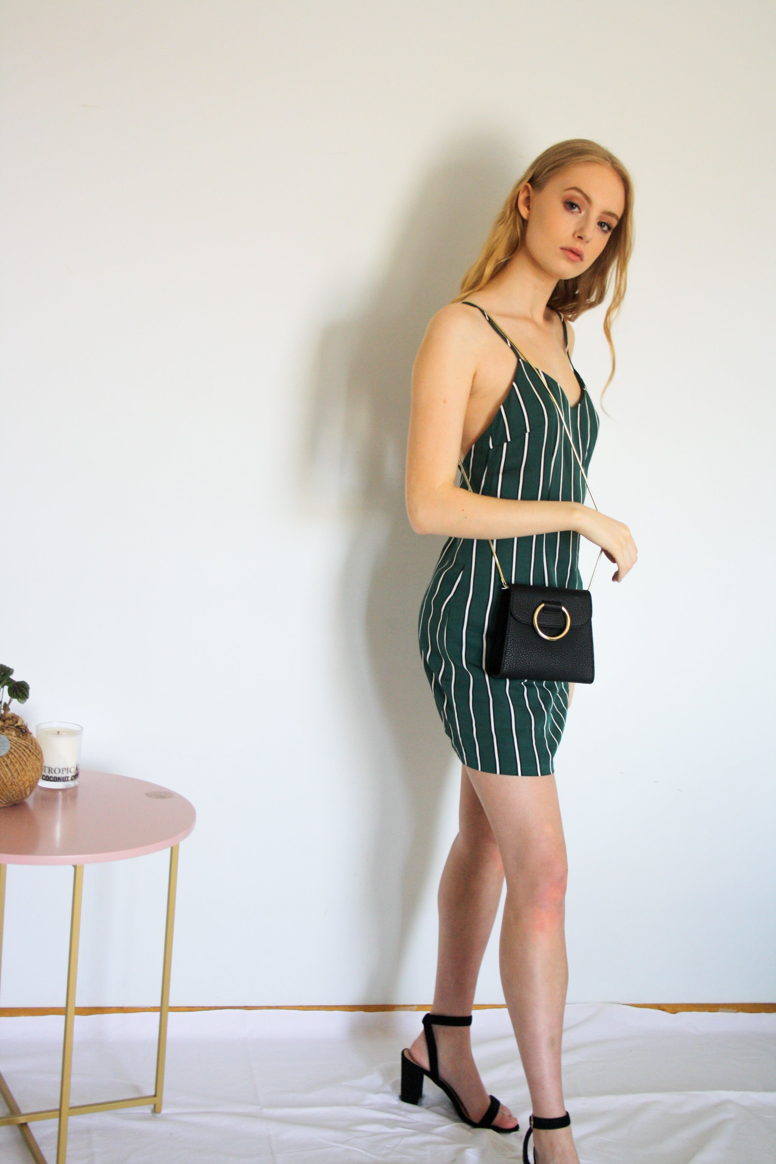 Moment mini slip dress