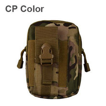 Outdoor Camping Climbing BagTactical Military Molle Hip Waist Belt  Wallet Pouch Phone Case for iPhone 7 for Samsung Murse
