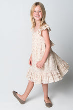 Peaches & Cream Ruffle Dress - Kids Wholesale Boutique Clothing, Dress - Girls Dresses, Yo Baby Wholesale - Yo Baby