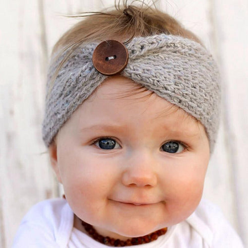 Wool Crochet Turban/Headband - Kids Wholesale Boutique Clothing,  - Girls Dresses, Yo Baby Wholesale - Yo Baby