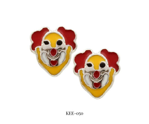 Clown Earrings