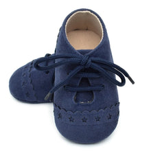 Unisex mock suede moccasins - Indigo - Kids Wholesale Boutique Clothing,  - Girls Dresses, Yo Baby Wholesale - Yo Baby