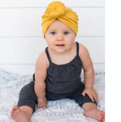 Cotton Knit Turban/Headband - Kids Wholesale Boutique Clothing,  - Girls Dresses, Yo Baby Wholesale - Yo Baby