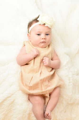 Blush Lace Dress & Diaper Cover - Kids Wholesale Boutique Clothing, 2-pc. set - Girls Dresses, Yo Baby Wholesale - Yo Baby