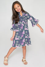 Great and Purple Shift Dress - Kids Wholesale Boutique Clothing, Dress - Girls Dresses, Yo Baby Wholesale - Yo Baby