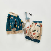 Abstract Infant Ultra-Soft Sweater - Unisex