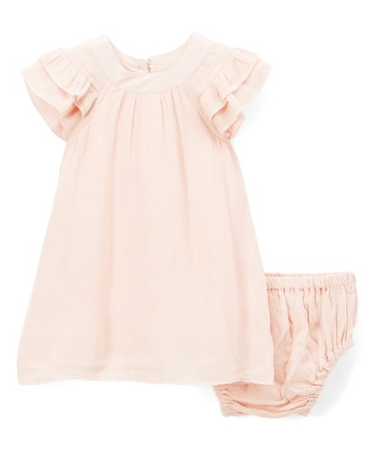 Pink Ruffle Dress - Kids Wholesale Boutique Clothing, Dress - Girls Dresses, Yo Baby Wholesale - Yo Baby