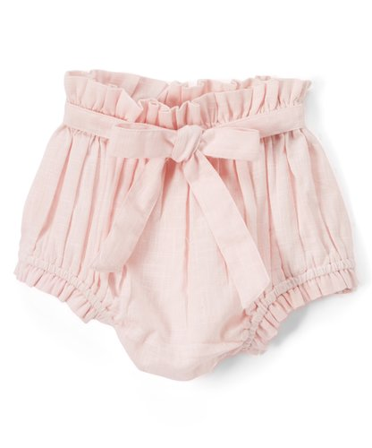 Set of 3 - Short - Style Diaper Covers with Belt. Ivory, Pink & Powder Blue. - Kids Wholesale Boutique Clothing, diaper covers - Girls Dresses, Yo Baby Wholesale - Yo Baby