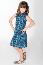 Blue And Pink Whimsical Shirt Dress - Kids Wholesale Boutique Clothing, Dress - Girls Dresses, Yo Baby Wholesale - Yo Baby