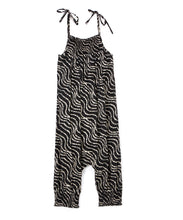 Black and White Zebra Print Jumpsuit - Kids Wholesale Boutique Clothing, Jump Suit - Girls Dresses, Yo Baby Wholesale - Yo Baby