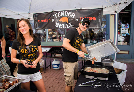 Photo ofTender Belly Bacon Shines at Central City Bacon Tourby Tender Belly