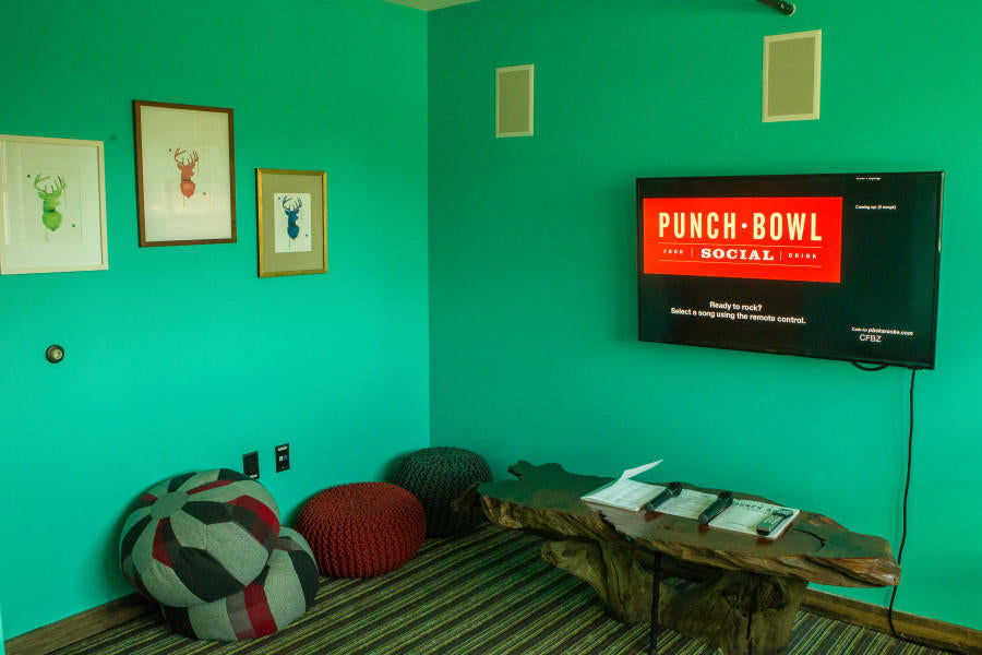 Punch Bowl Social Adds Private Karaoke Rooms