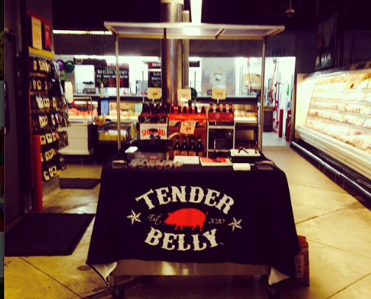 Tender Belly Offers Signature Bacon at Central Market