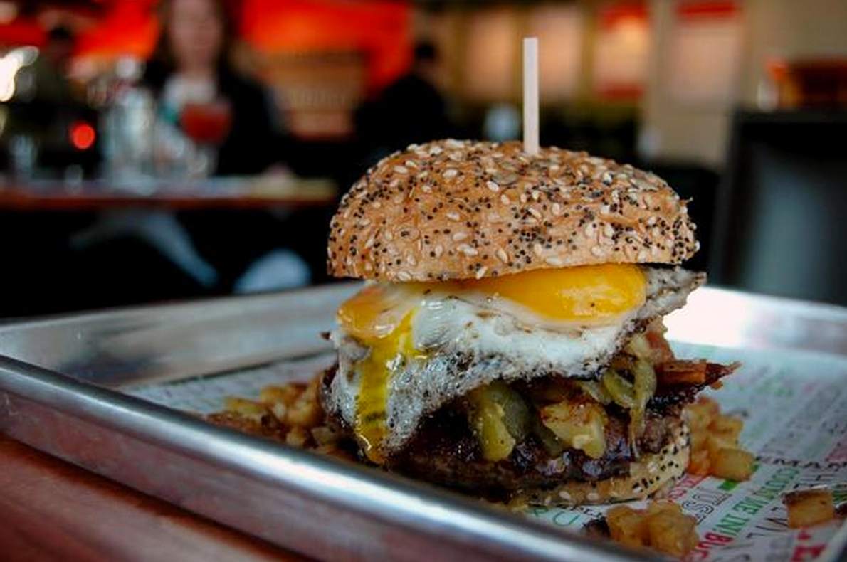 Best Bites: Sunnyside Burger Bar's Hangover Burger