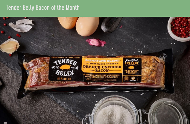 Tender Belly Named One of the Best Bacon Subscription Boxes