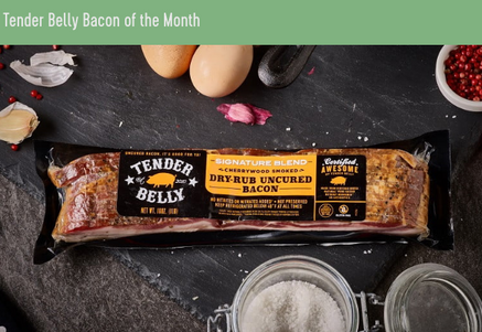 Photo ofTender Belly Named One of the Best Bacon Subscription Boxesby Tender Belly