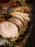 Roasted Pork Loin with Raisin Shallot Recipe