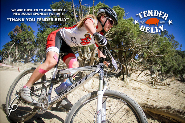 Tender Belly Partners with Colorado High School Cycling League
