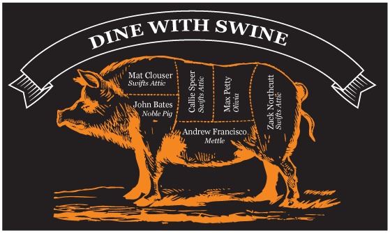 "Tender Belly Farms ""Dine With Swine"""