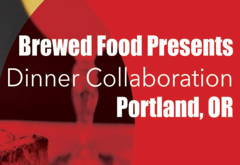 BREWING DINNER WITH BIWA RESTAURANT: PORTLAND 4/19