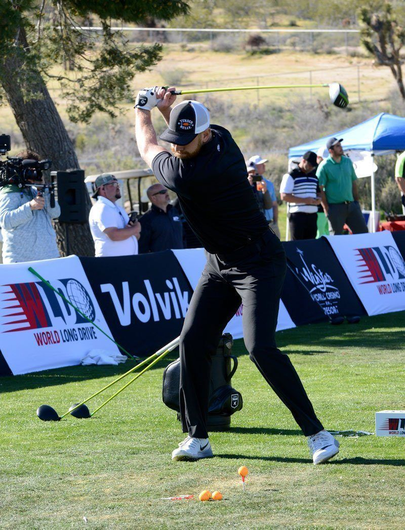 Photo of    Professional Long Drive Golfer  Josh Cassaday