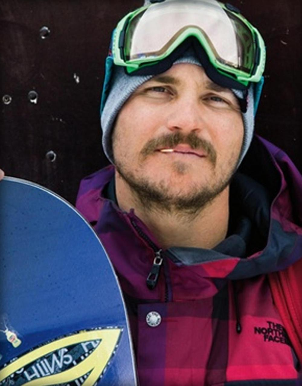 Photo of    PROFESSIONAL SNOWBOARDER & RANCHER  Mark Carter