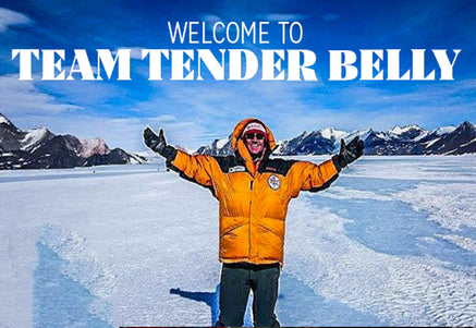 Photo ofTender Belly Sponsors Professional Mountain Climber and Two-Time Cancer Survivor Sean Swarnerby Tender Belly