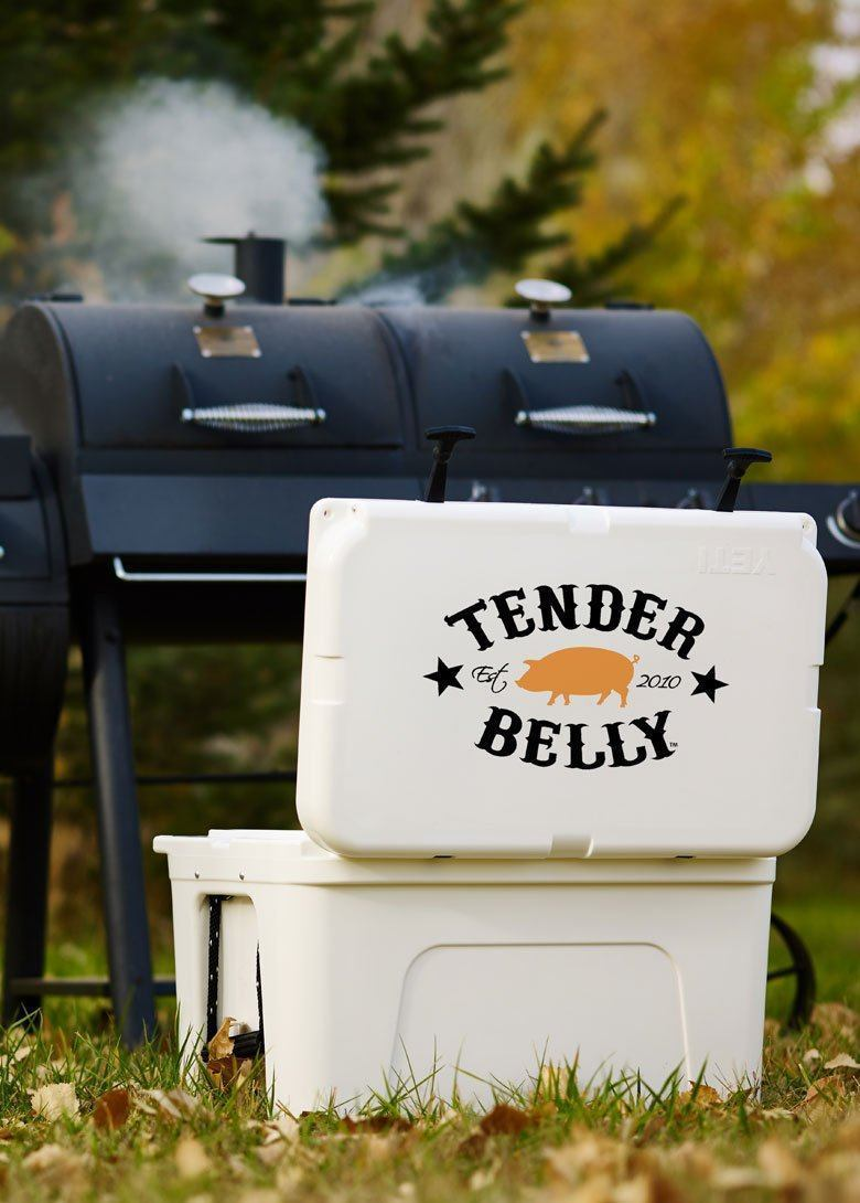 FAMILY Pork Yeti Coolers Package - Large - Tender Belly