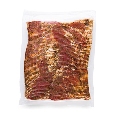 Signature Dry-Rub Cured Bacon, Sliced Slab - Tender Belly
